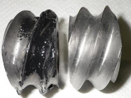 鉱物油の脱脂洗浄